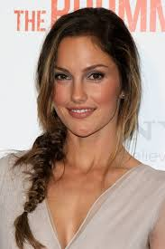 wedge one side longer hair minka kelly cute loose side braided hairstyle for long hair