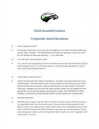 Resume Samples Board Membership by Baseball Coach Job Resume Sample Xpertresumes Com