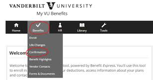 benefits human resources vanderbilt university