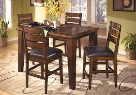 4 Chair Dining Sets Larchmont 5pc Counter Height Dining Set Overstock