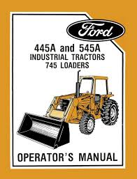 ford 3400 4500 tractor manual affordable download