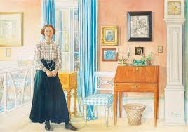 carl larsson brita in the drawing room 1910 flickr photo