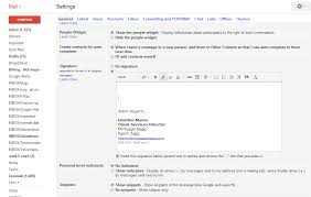 free email signature templates template email signature examples