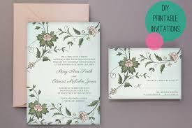 Printable Wedding Invitations Wedding Diy Free Printable Invitations U0026 Rsvp Bespoke Bride