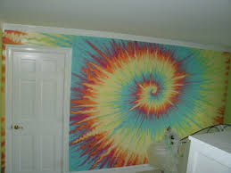 how to paint a tie dye inspired fresco residential interior wall cool abstract tie dye wall painting by marta sytniewski