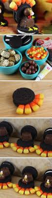 this edible corn and oreo cookie turkey is a and easy