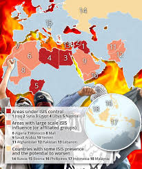 united states of islam map 2016 map shows terrifying spread of and asia russia are next on
