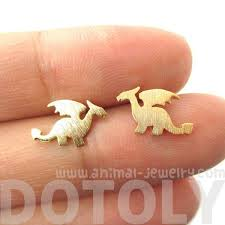 allergy earrings classic silhouette shaped allergy free stud earrings in