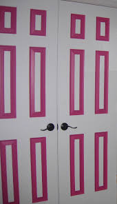 125 best basement craft room ideas images on pinterest craft the doors in my office i hand painted those suckers my office is hot pink black and white need to take some more pictures
