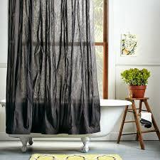 Grey Bathroom Curtains Most Interesting Grey Bathroom Curtains Decorating Curtains