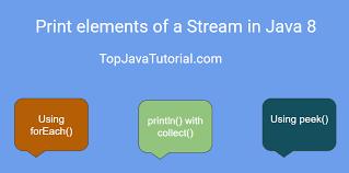 builder pattern in java 8 printing elements of a stream in java 8 top java tutorial