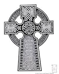 celtic cross by childofdanu on deviantart