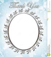 thank you card wedding frame royalty free stock photos image