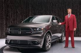 nissan durango 2015 ron burgundy tapped as new pitchman for the dodge durango videos