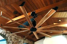 Large Rustic Ceiling Fans Indoor Outdoor Ceiling Fan Dual Fan Heads