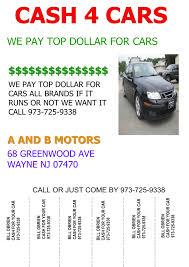lexus dealer wayne nj used cars used cars specials wayne nj 07470 a u0026 b motors