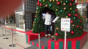 japan through my eyes christmas decorations at sendai station