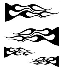 airbrush flame stencils
