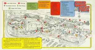 Map Of Golden Colorado by 1997 Cedar Point Map Maps Local Pinterest Cedar Point And