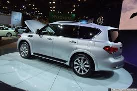 infiniti qx56 on 26 inch rims ny show 2011 infiniti qx officially unveiled priced from 56 700