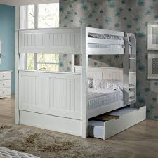 Viv Rae Amani Traditional Full Over Full Bunk Bed With Trundle - Full over full bunk bed with trundle