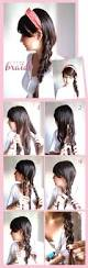 Easy Hairstyle Tutorials For Long Hair by 20 Cute And Easy Braided Hairstyle Tutorials