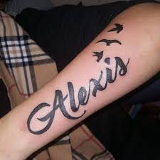 Names In Tattoos 99 Popular Collection Of Name Tattoos