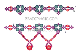 free pattern for beaded necklace classic beads magic 2 u need