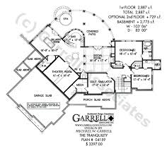 mountain floor plans tranquility luxurious mountain house plan