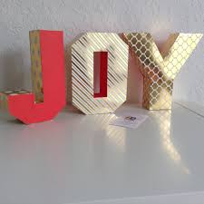 3d letters and numbers customized name joy christmas theme
