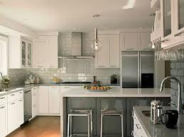 kitchen white cabinets shape pink stool decor idea backsplash