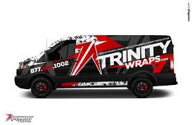 van ford ford transit 250 van wrap design by essellegi