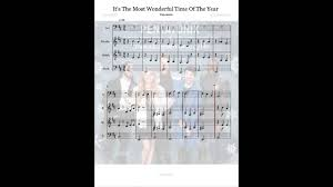 pentatonix it s the most wonderful time of the year sheet