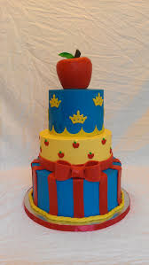 snow white cake design was copied from a photo the client sent