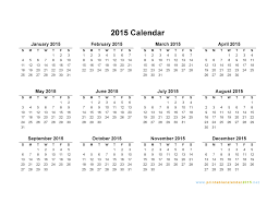 printable calendar year on one page 2015 calendar on one page roberto mattni co