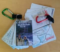 Pedometer Map Outdoors Muskoka Conservancy