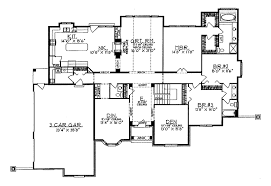 luxury ranch floor plans eleanor luxury ranch home plan 051d 0048 house plans and more