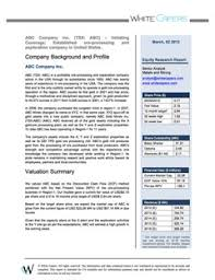 sample report equity research outsourcing financial analysis