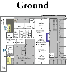 ground floor plan mchenry library floor plans library