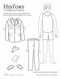 fashion through the years printable history paper dolls