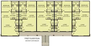 plan 83128dc 10 unit apartment building plan roof pitch