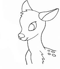 beautiful deer animal coloring pages with deer coloring page