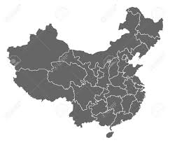 Map Of China Provinces by Political Map Of China With The Several Provinces Royalty Free
