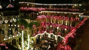 Riverside Christmas Lights Festival Of Lights At The Mission Inn Hotel And Spa In Riverside