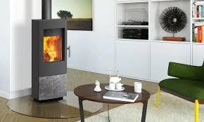 tula charcoal black stove w soapstone panel distributed