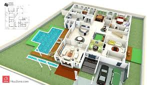 3d Home Floor Plan Design Suite V 9 3d House Floor Plan With House Plan Designs In 3d