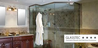 custom glass shower doors decorative frameless u0026 more new jersey