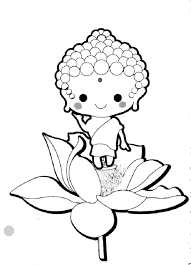 Little Buddha Coloring Page Get Coloring Pages Buddhist Coloring Pages
