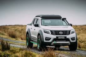 nissan truck 2016 new nissan navara enguard concept is the ultimate rescue machine