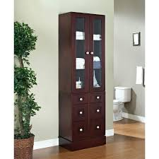 linen cabinet tower linen cabinet with hamper bath tower cabinet